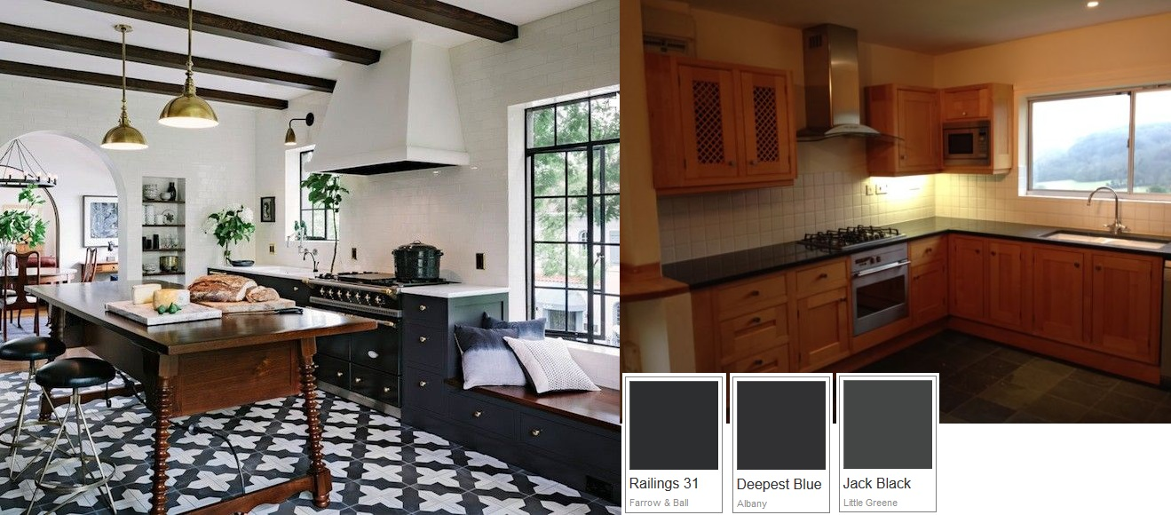 Kitchen Painted With Brewers Albany Oil Based Eggshell Kitchens Traditional Painter Forum